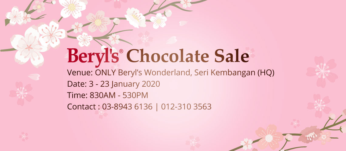 Beryl's Chocolate Factory Sales | Chinese New Year 2020