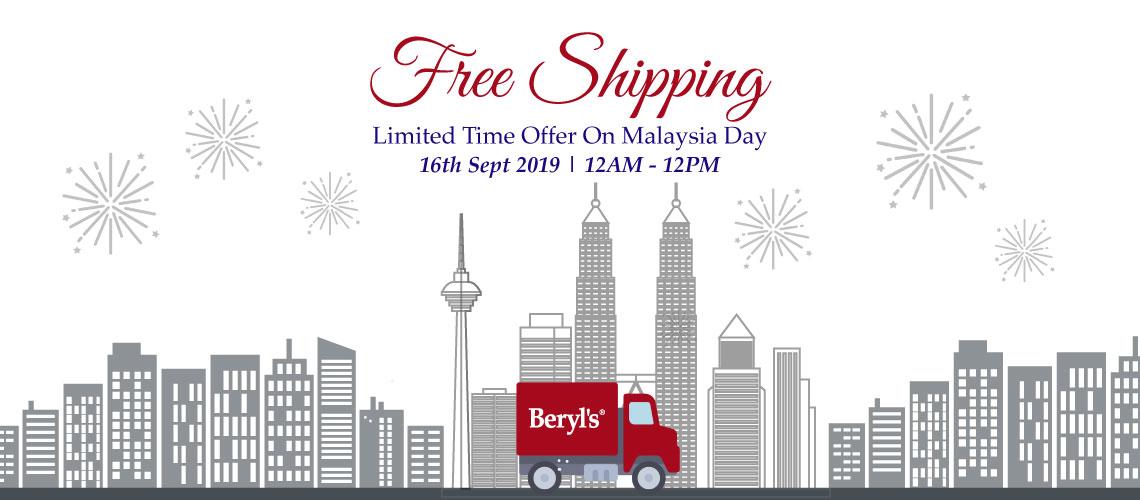 Free Shipping on Malaysia