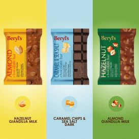 Beryl's 100g Chocolate Bar - Triple Pack B