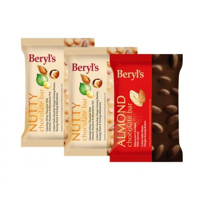 Beryl's 100g Chocolate Bar - Triple Pack A