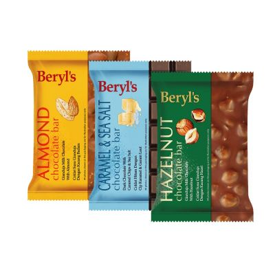 Beryl's 100g Chocolate Bar - Triple Pack B
