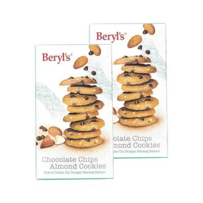 Chocolate Chips Almond Cookies Twin Pack