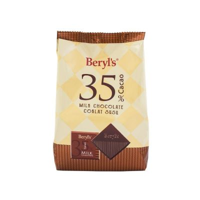 Beryl's 35% Cacao Milk Chocolate 250g
