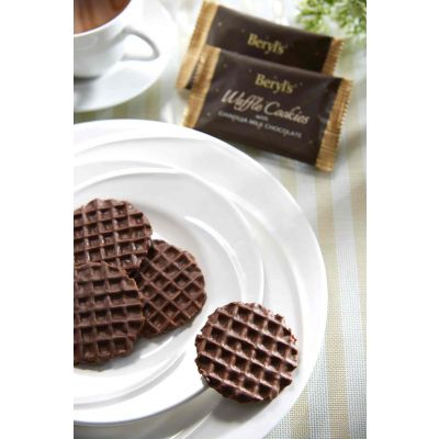 Beryl's Waffle Cookies Coated With Gianduja Milk Chocolate 80g