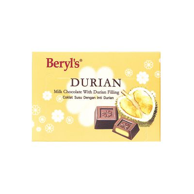 Beryl's Snow Flower Durian With Milk Chocolate 60g