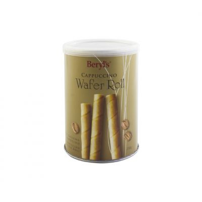 Beryl's Cappuccino Wafer Roll 150g