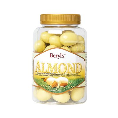Almond Coated With White Chocolate & Malf Puff 380g