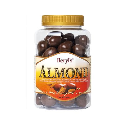 Almond Coated With Milk Chocolate & Malf Puff 380g