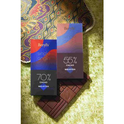 Single Origin 70% Cacao Dark Chocolate 60g - Malaysia [BEST BEFORE: JAN2021]