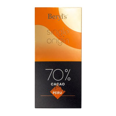 Single Origin 70% Cacao Dark Chocolate 60g - Peru [BEST BEFORE: 31JAN,2021]