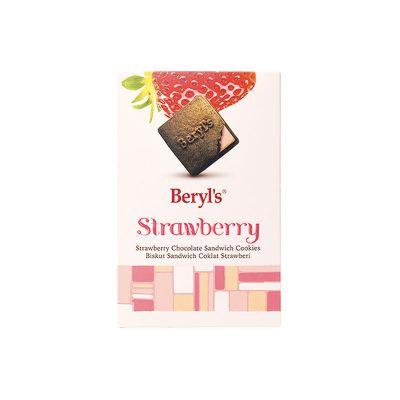 Strawberry Chocolate Sandwich Cookies 90g