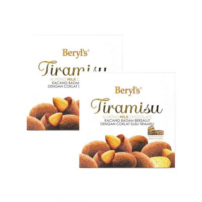 Tiramisu Almond Milk 65g Twin Pack