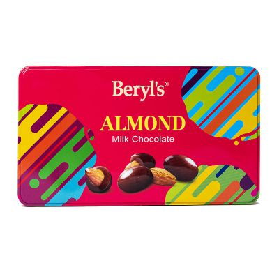 Tin Almond Coated With Milk Chocolate 180g