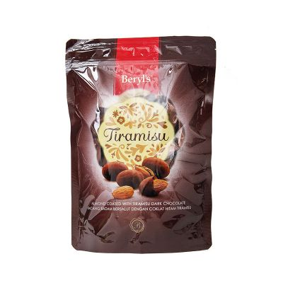 Beryl's Tiramisu Almond Dark Chocolate 300g