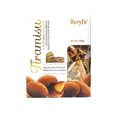 Tiramisu Almond Milk Chocolate 100g