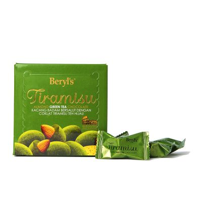 Tiramisu Almond Green Tea Chocolate 65g