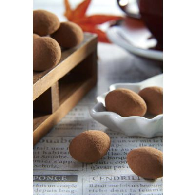 Tiramisu Almond White Chocolate 100g Tin