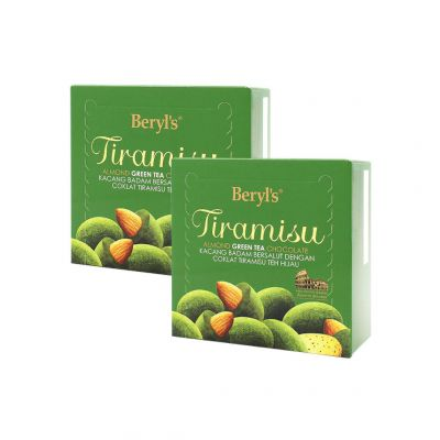 Tiramisu Almond Green Tea 65g Twin Pack