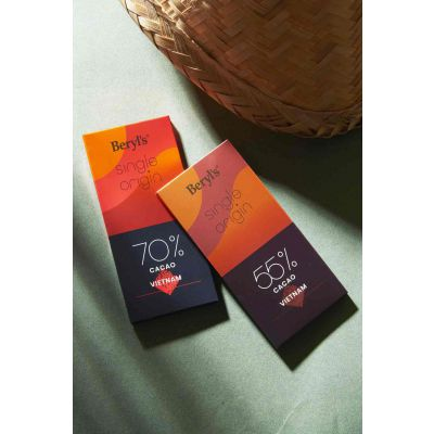 Single Origin 55% Cacao Dark Chocolate 60g - Vietnam [BEST BEFORE: 10JAN,2021]