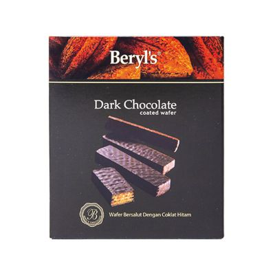 Wafer Coated with Dark Chocolate 40g