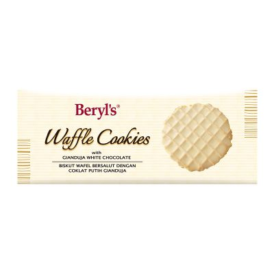 Beryl's Waffle Cookies Coated With Gianduja White Chocolate 80g