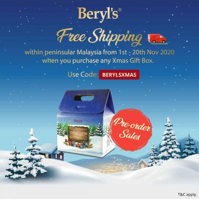 Beryl's Xmas Festive Treats Assorted Chocolate 124g